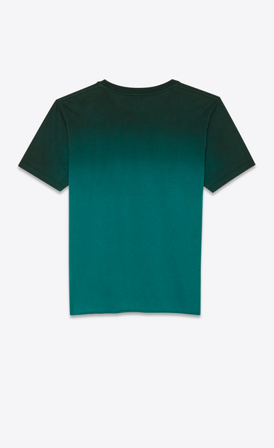 SAINT LAURENT T-Shirt and Jersey Man T-shirt in degraded green b_V4
