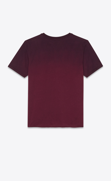SAINT LAURENT T-Shirt and Jersey Man T-shirt in degraded purple b_V4