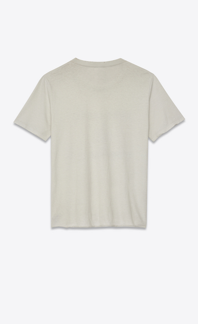 """SAINT LAURENT T-Shirt and Jersey Man """"saint laurent université"""" destroyed t-shirt b_V4"""