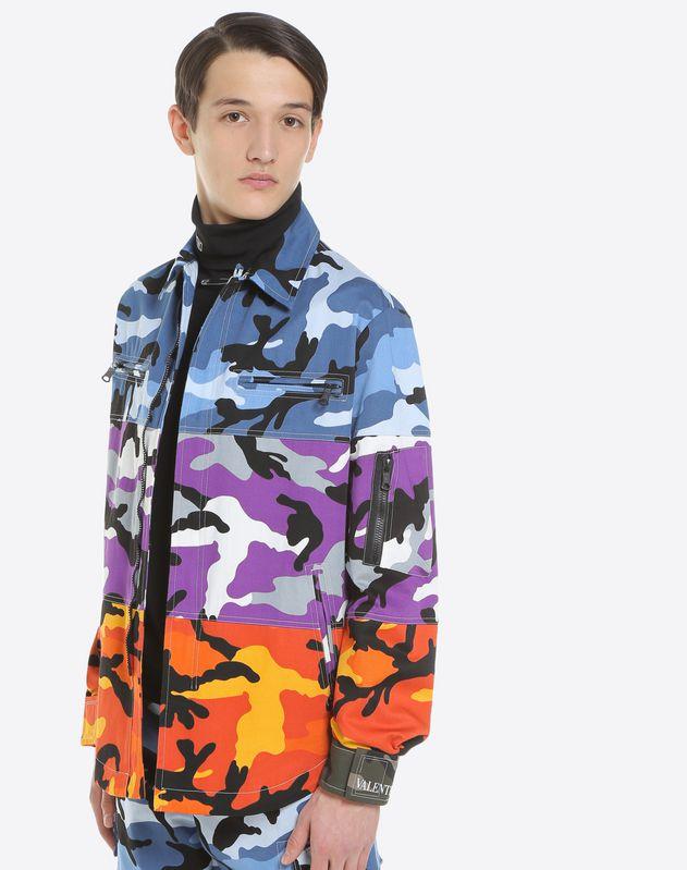 Shuffle Camou shirt jacket