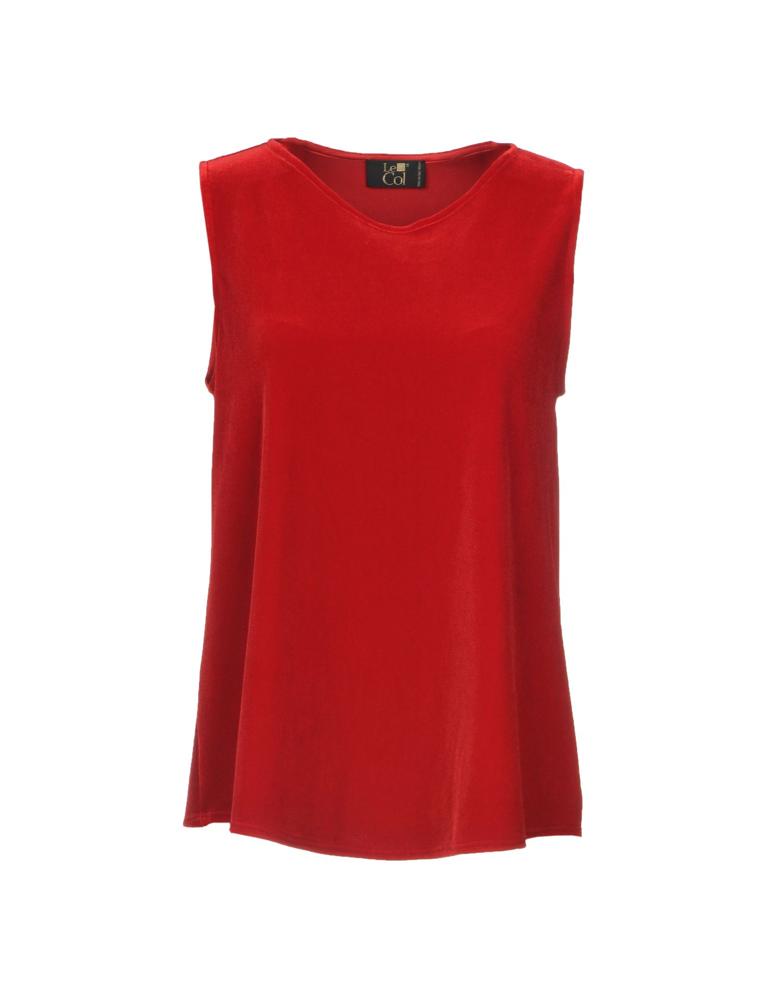 LE COL Top in Red