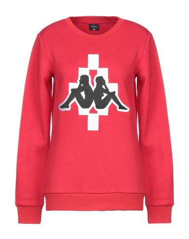 Фото - Женскую толстовку или олимпийку MARCELO BURLON x KAPPA красного цвета