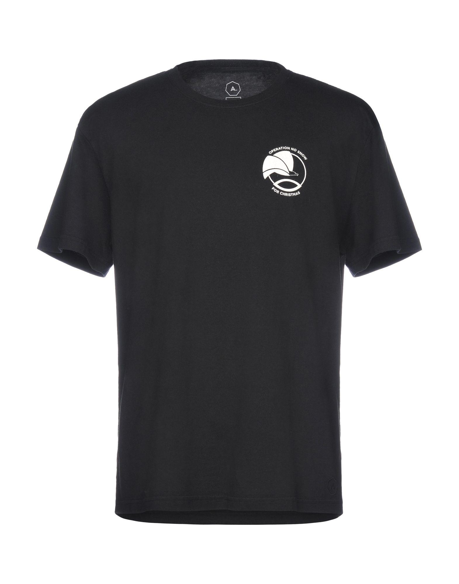 《送料無料》A? ALCHEMIST メンズ T シャツ ブラック XS コットン 100%