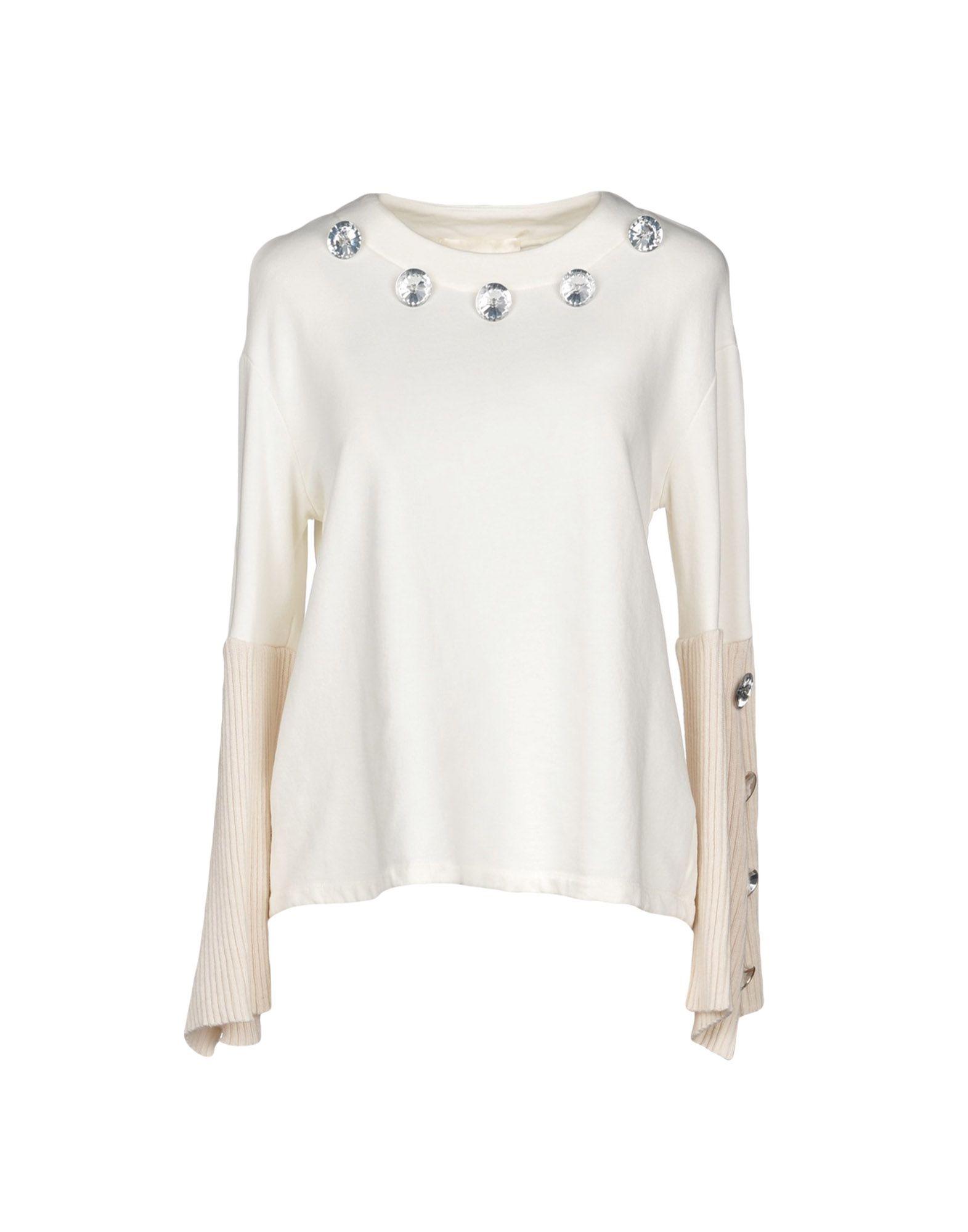 TILL.DA Sweatshirt in White