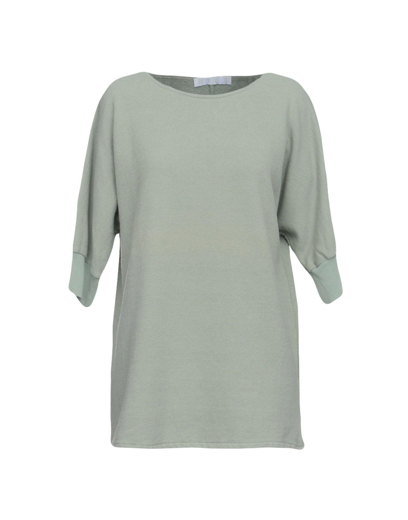 《送料無料》WATER レディース スウェットシャツ ライトグリーン XS コットン 100%