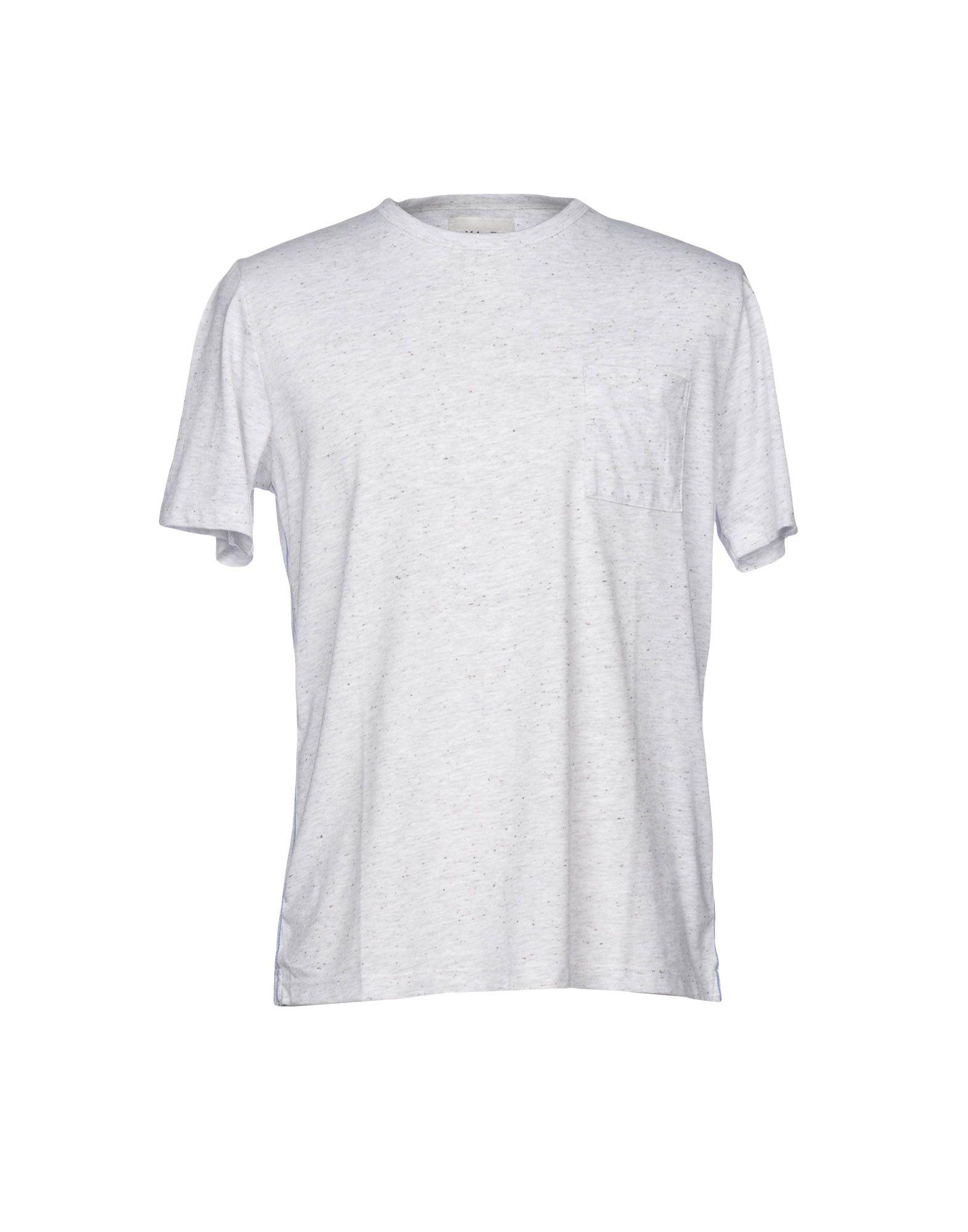 《送料無料》VI.E SIX EDGES メンズ T シャツ ライトグレー S 100% コットン