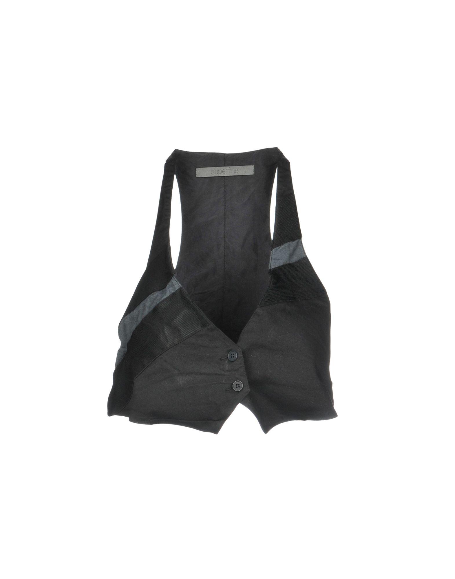 SUPERFINE Топ без рукавов superfine джинсовые шорты