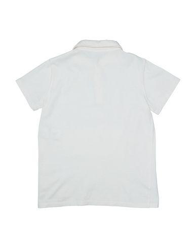 Фото 2 - Футболку или поло для мальчика DOUUOD белого цвета