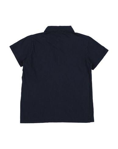 Фото 2 - Футболку или поло для мальчика DOUUOD темно-синего цвета