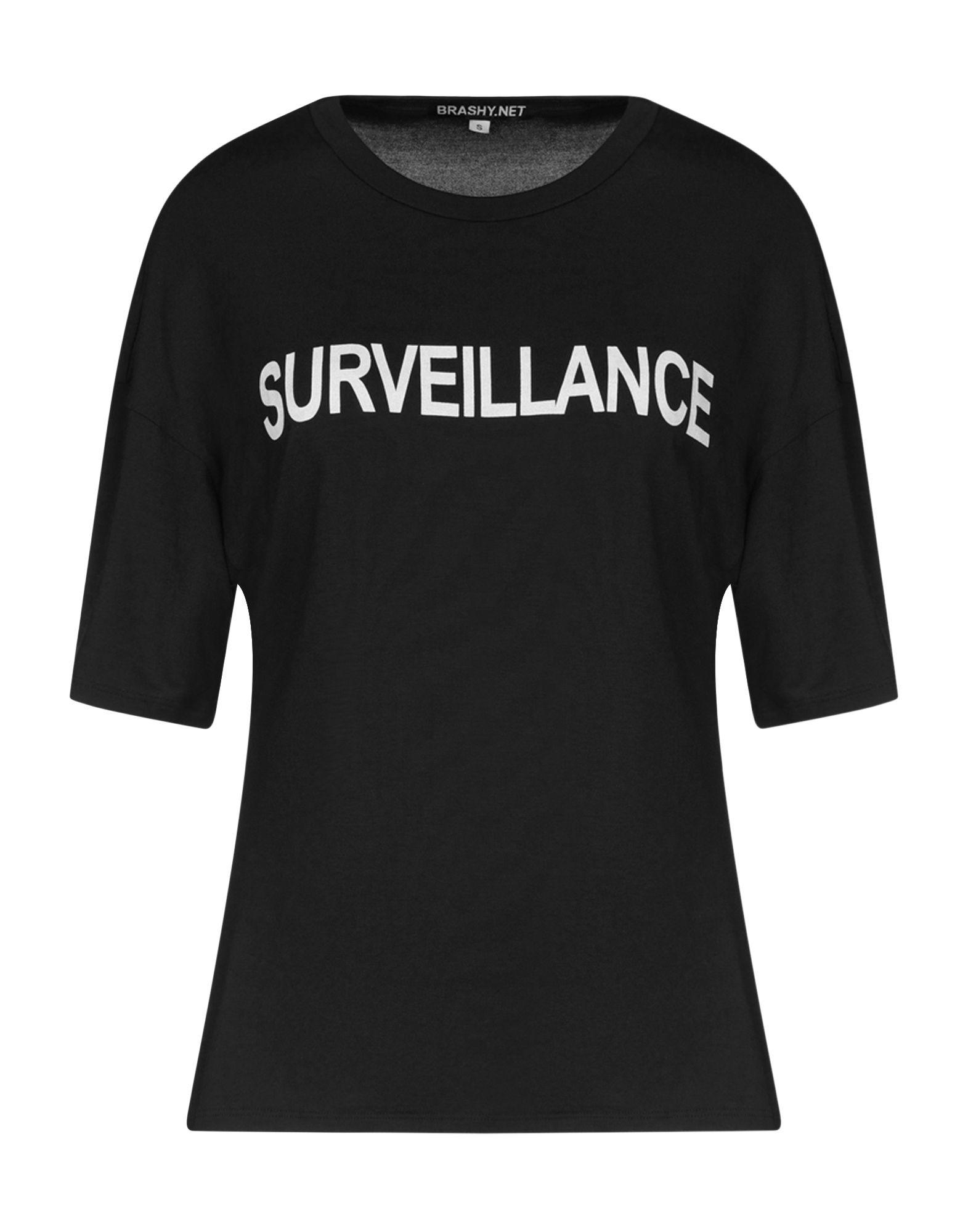 BRASHY T-Shirts in Black