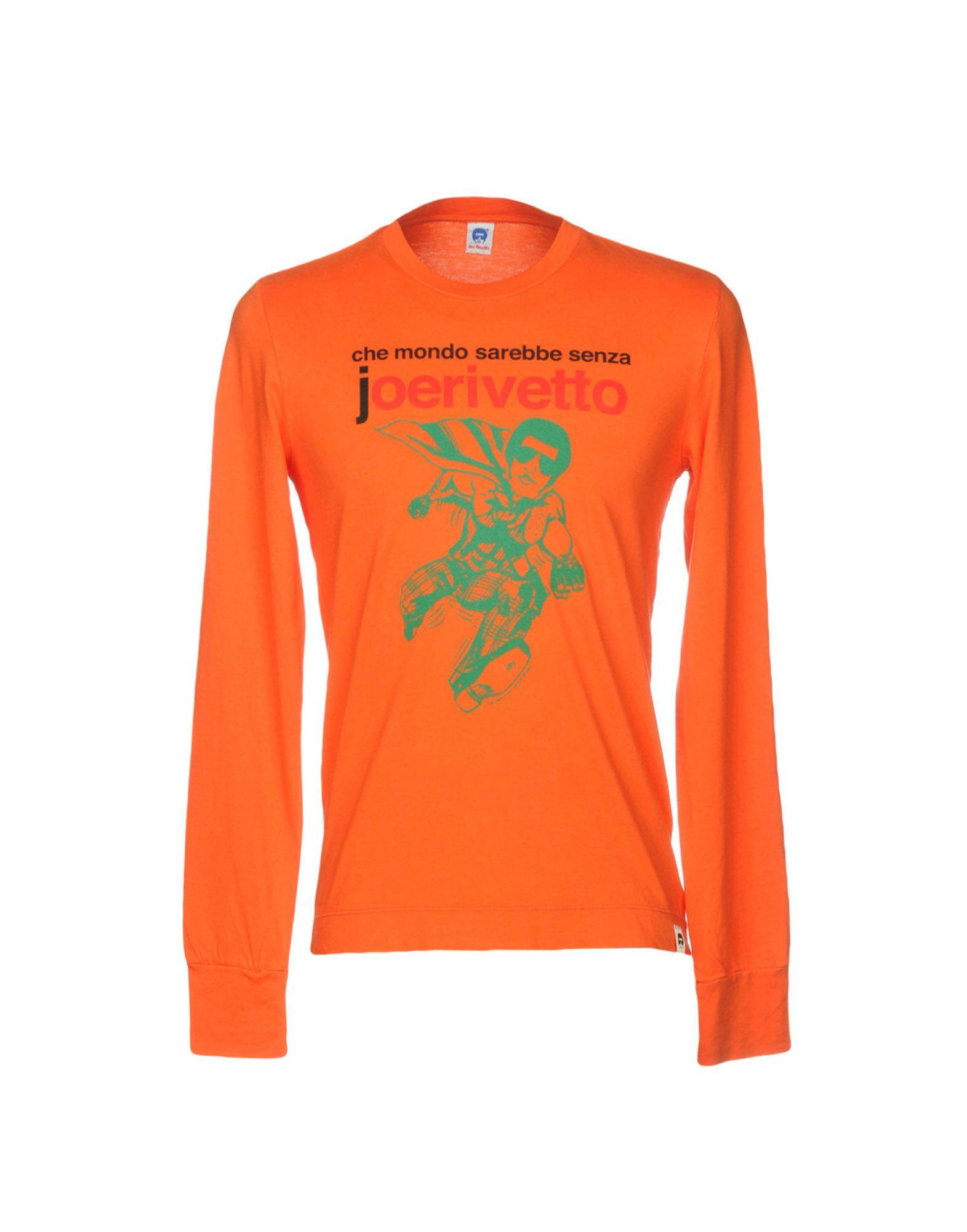《送料無料》JOE RIVETTO メンズ T シャツ オレンジ S コットン 100%
