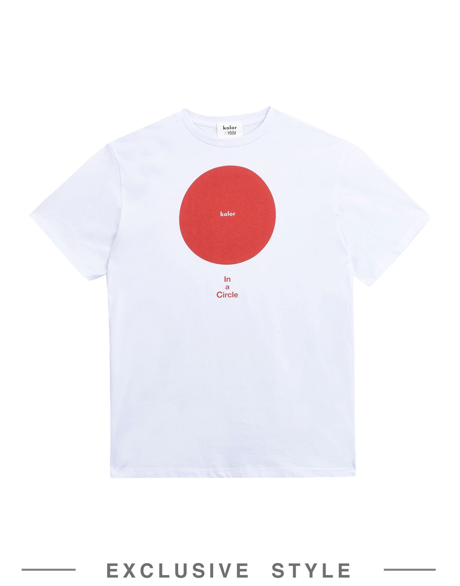 KOLOR x YOOX Футболка kolor x yoox футболка