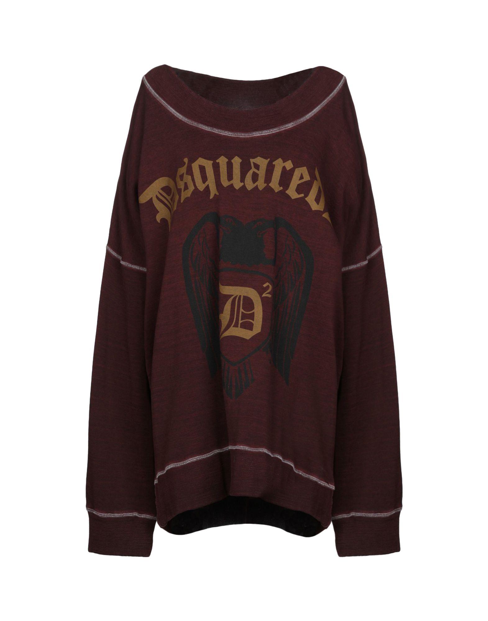 DSQUARED2 Damen Sweatshirt3 bordeaux,rot