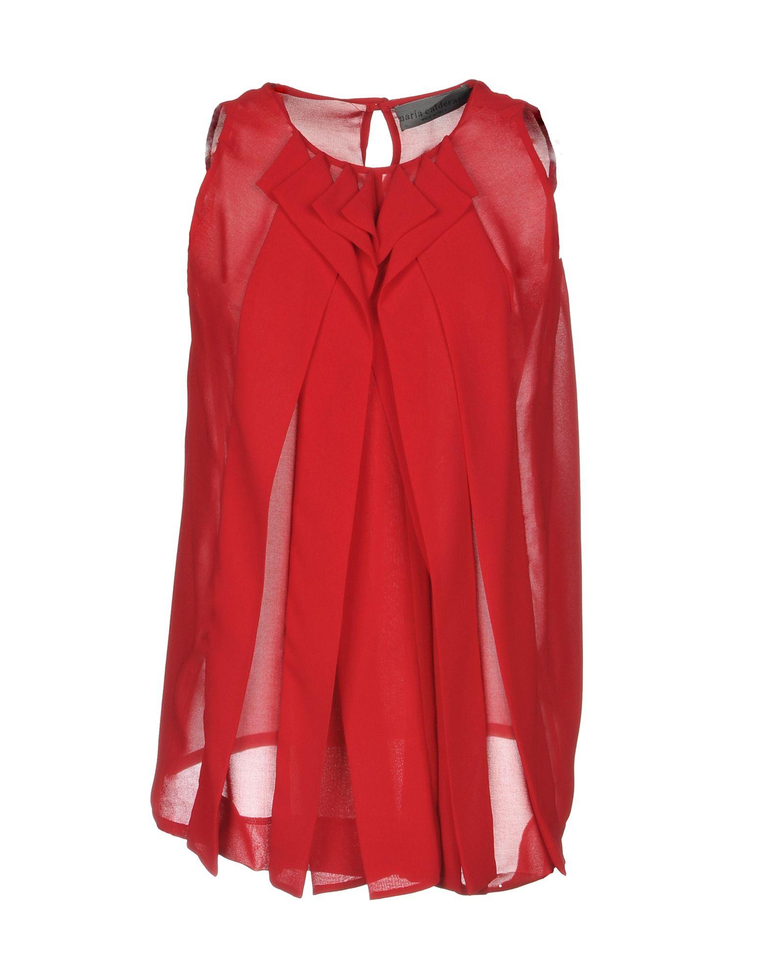 MARIA CALDERARA Top in Red
