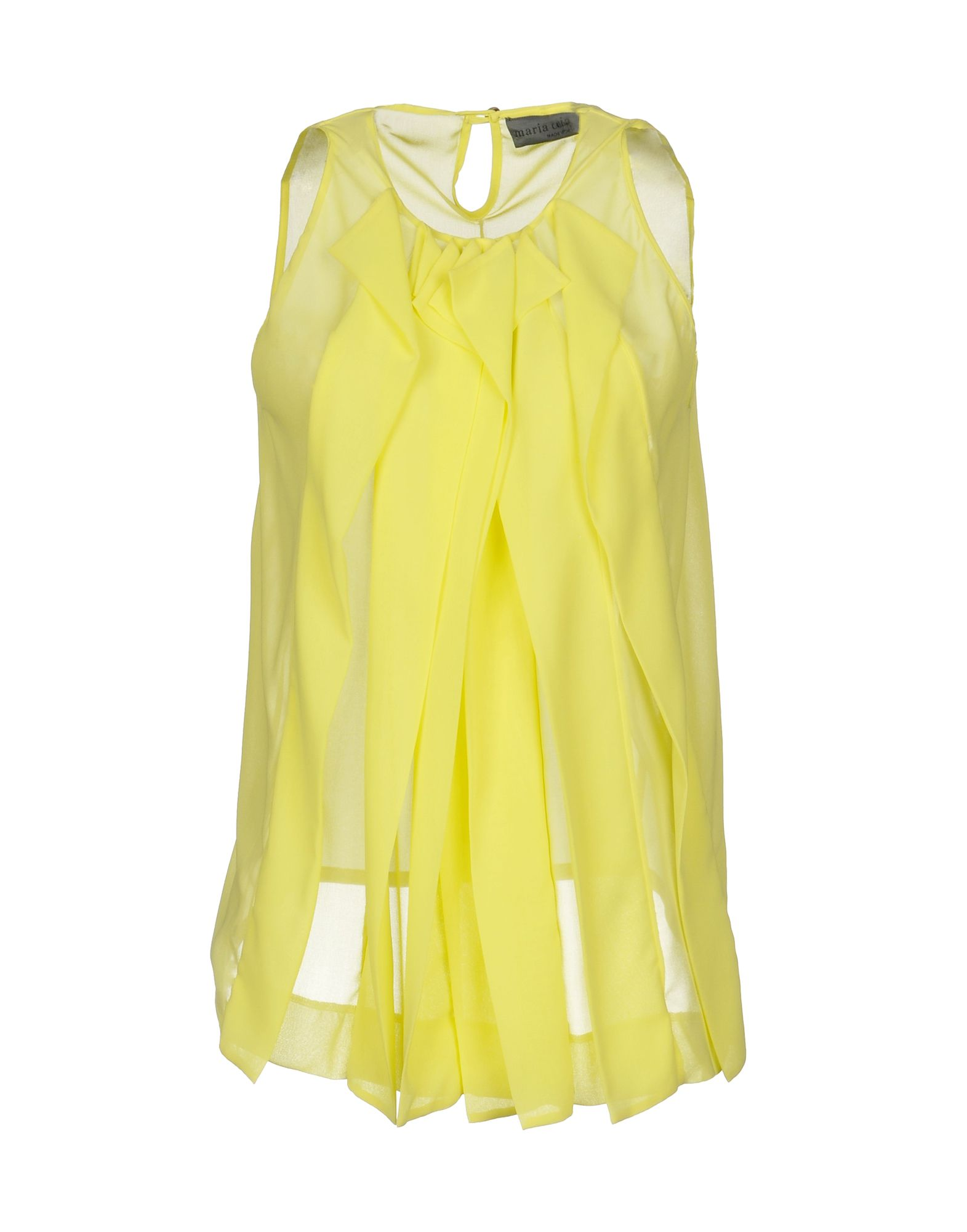 MARIA CALDERARA Top in Yellow