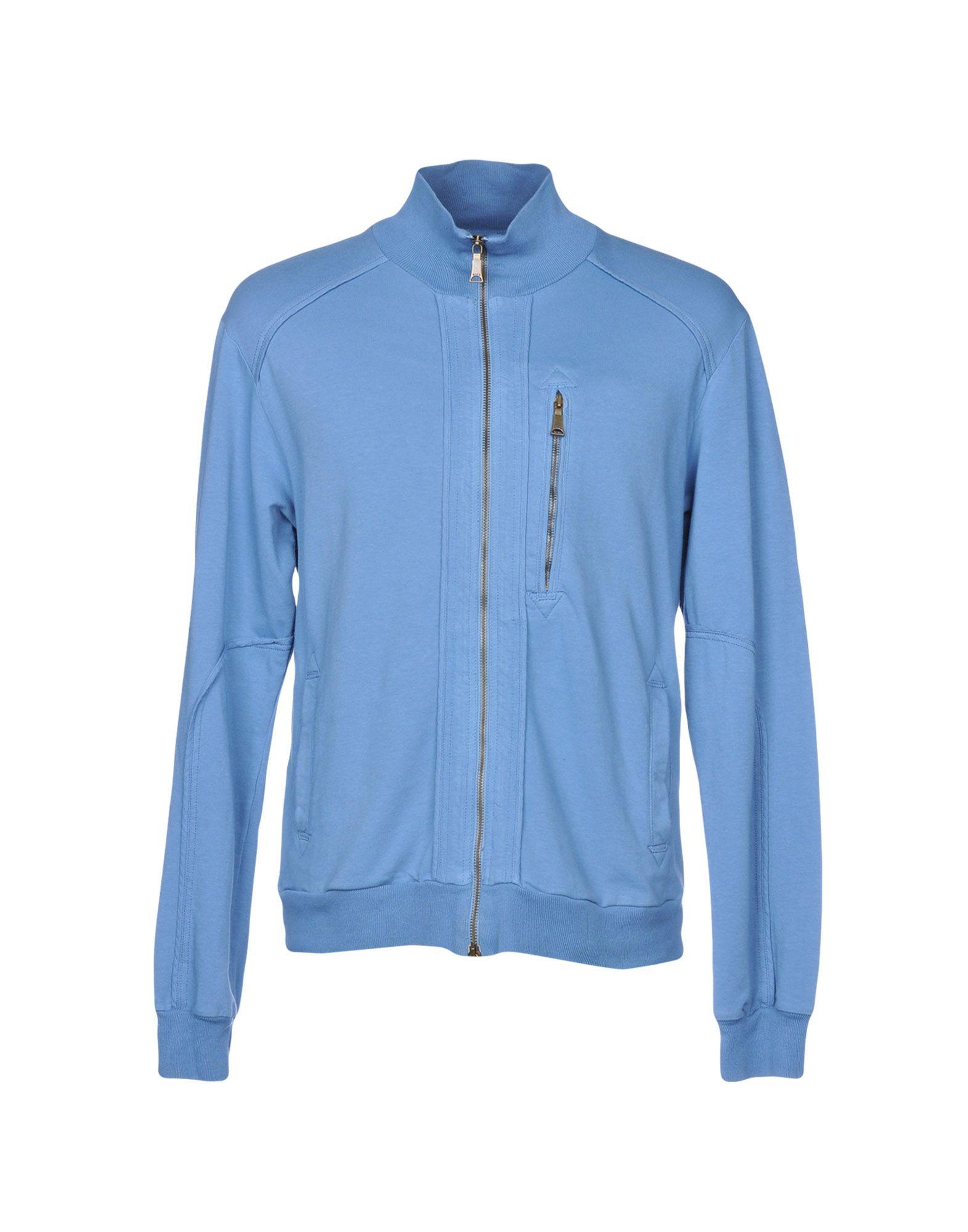 RICHMOND DENIM Sweatshirt in Sky Blue