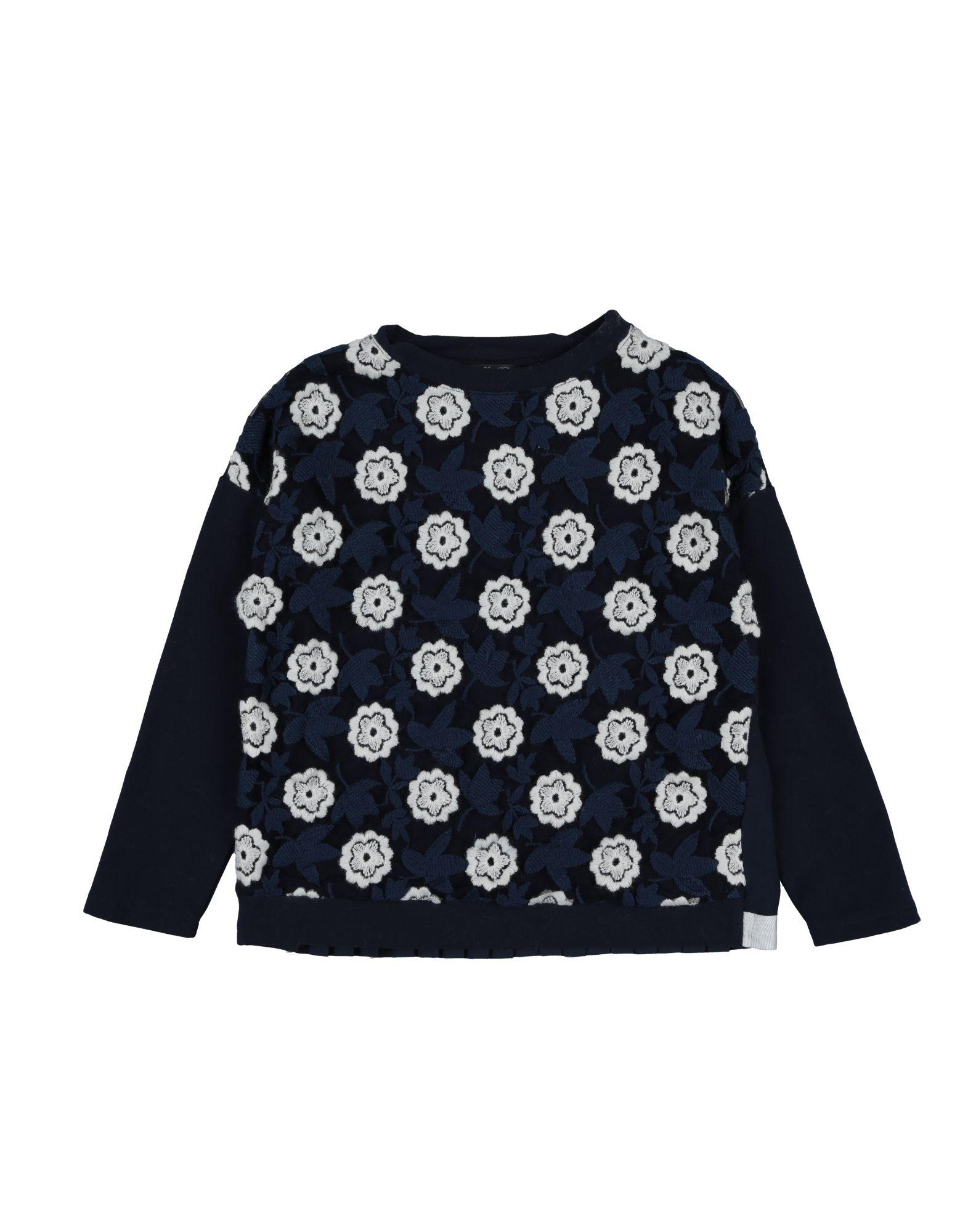 MISS BLUMARINE Sweatshirt in Dark Blue