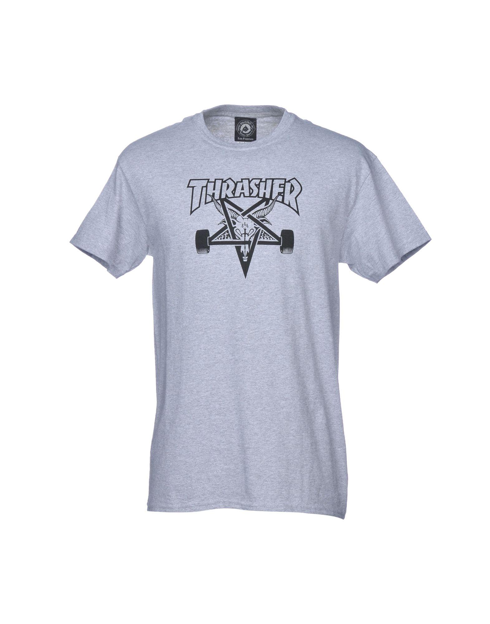 THRASHER Футболка thrasher футболка thrasher flame logo long sleeve black s