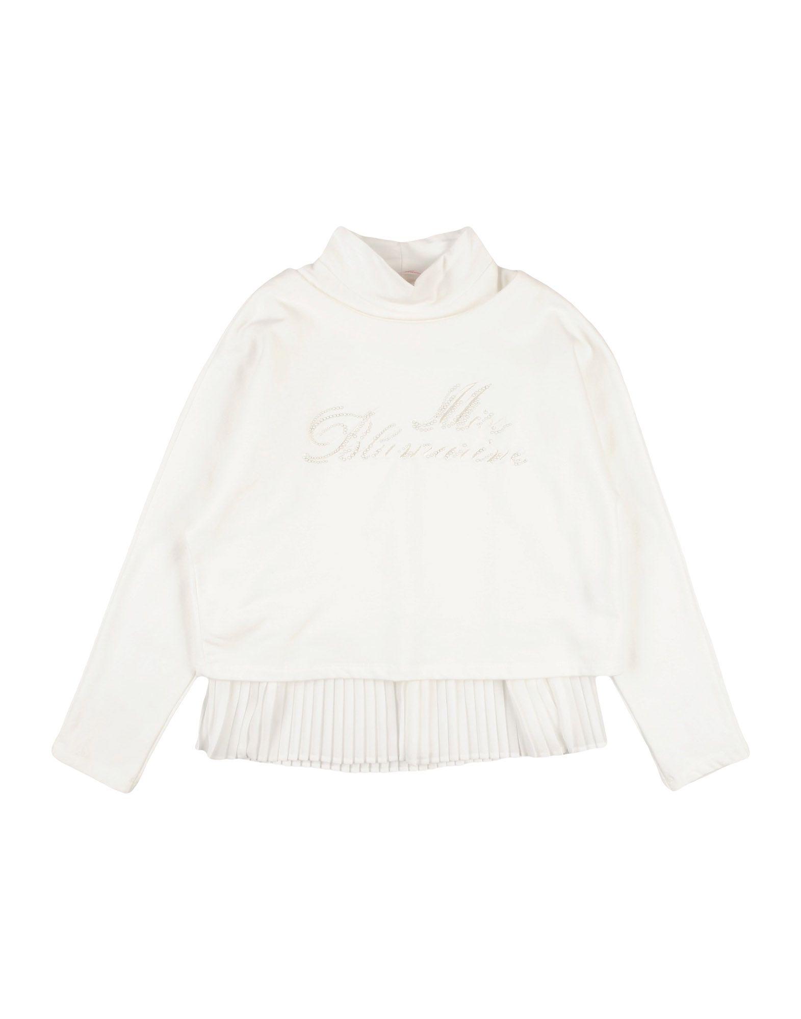 MISS BLUMARINE Sweatshirt in White