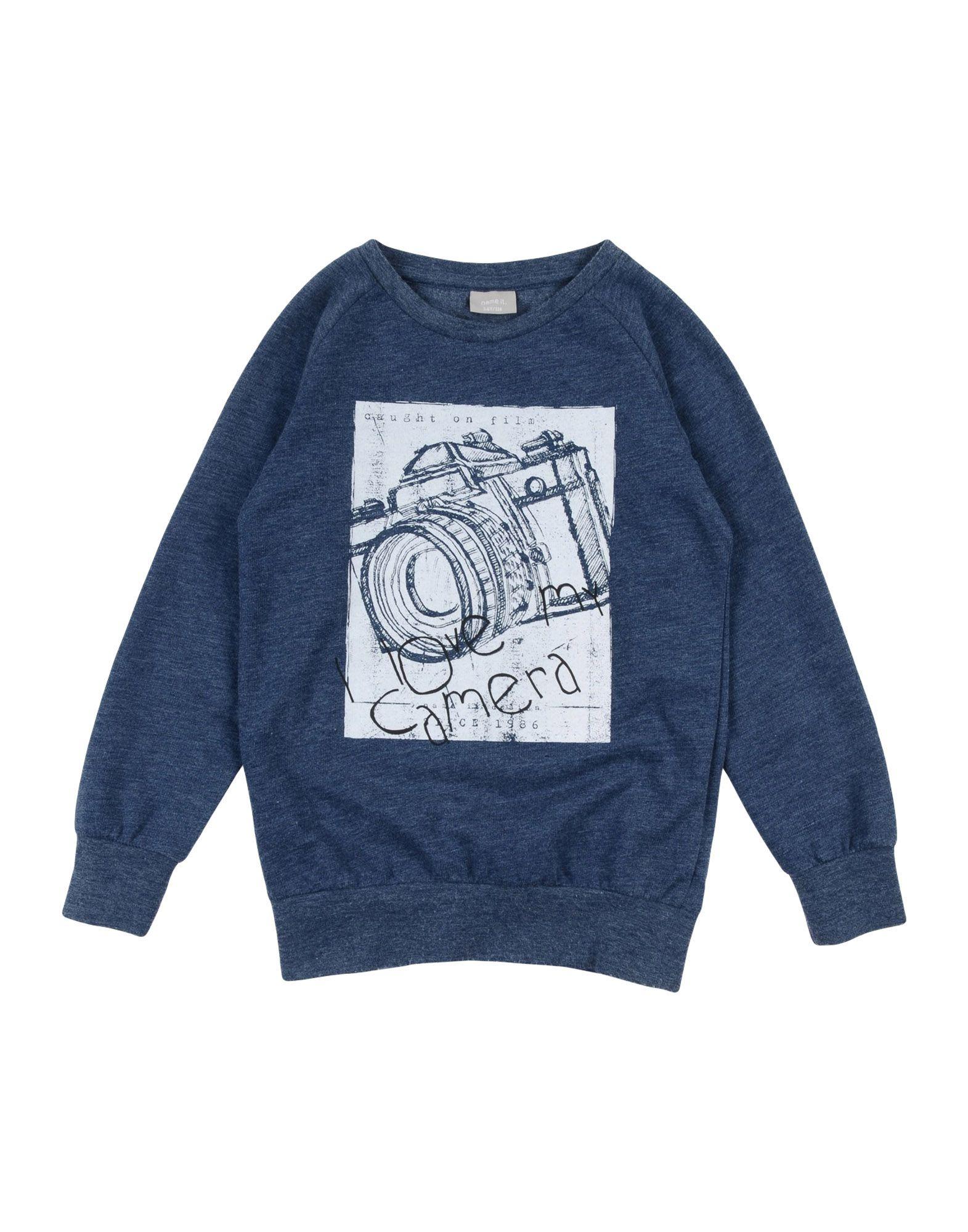 NAME IT® Jungen 3-8 jahre Sweatshirt3 blau