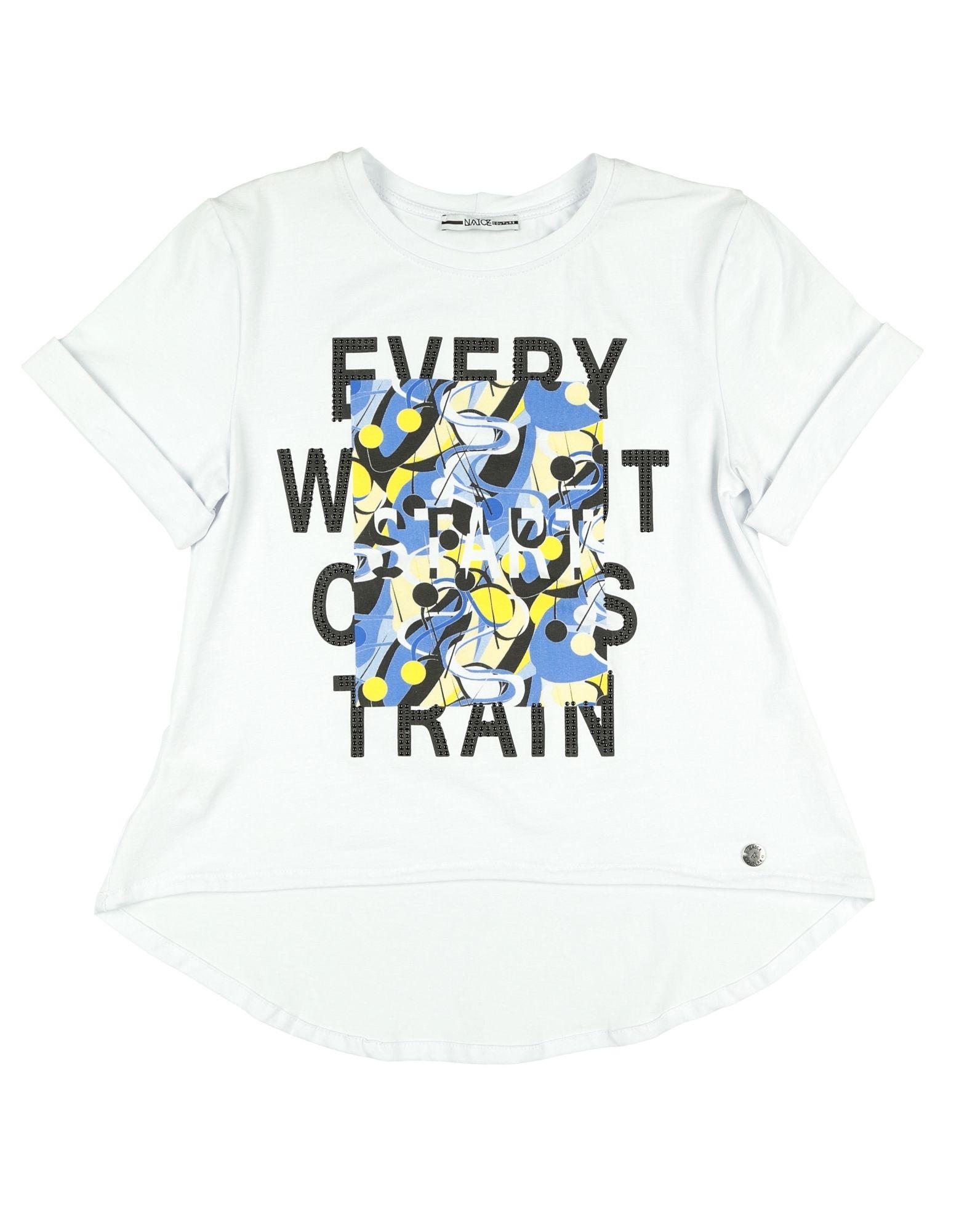 Naïce Kids' T-shirts In White
