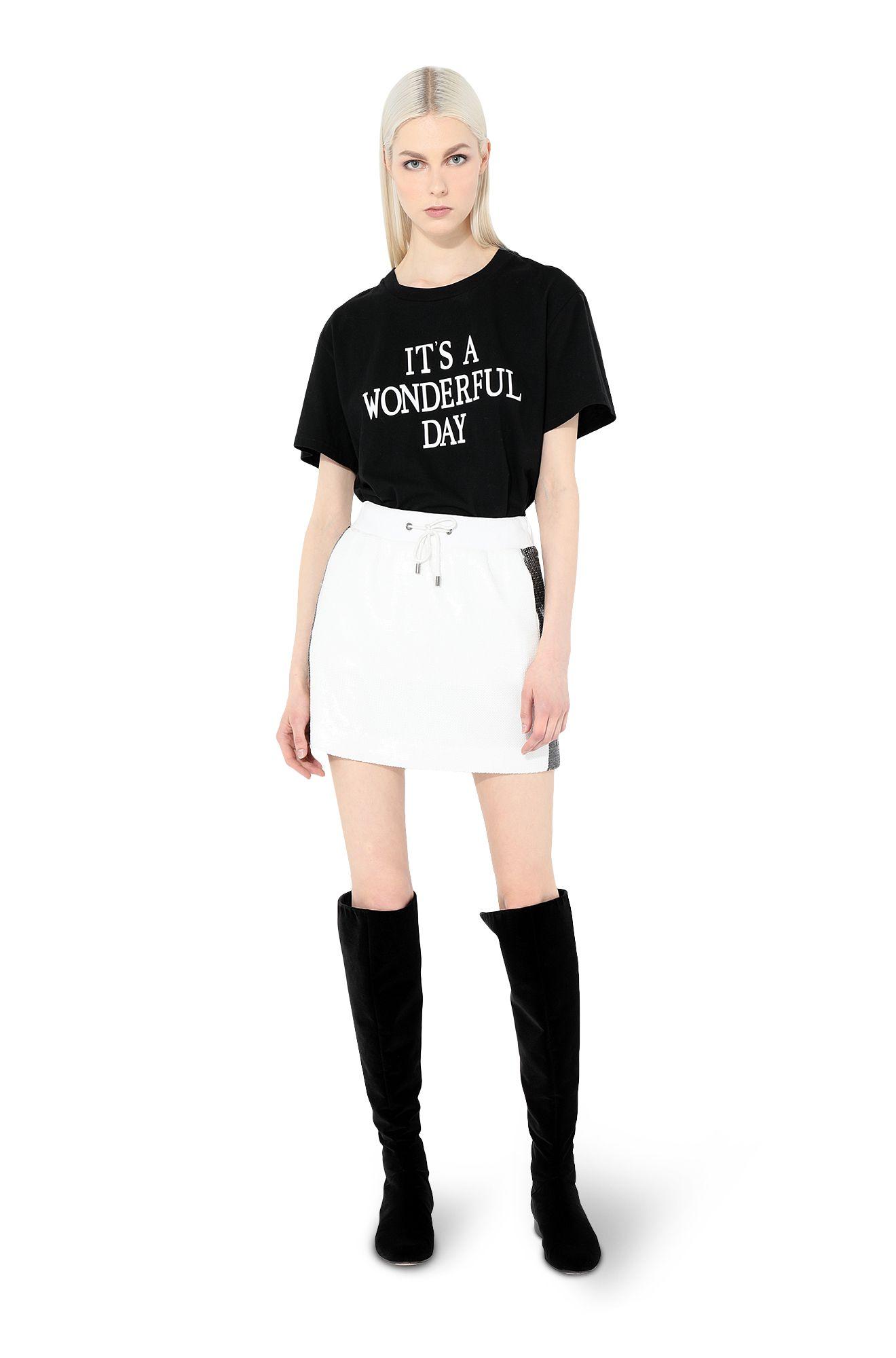 IT'S A WANDERFUL DAYプリントTシャツ