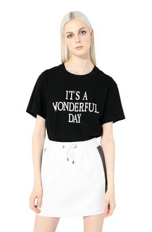 ALBERTA FERRETTI T-shirt printed with It's A Wonderful Day T-shirt Woman r