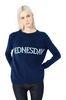 ALBERTA FERRETTI Rainbow Week sweater with Wednesday intarsia KNITWEAR Woman r