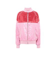 ALBERTA FERRETTI Bomber jacket with sequins Jacket Woman e