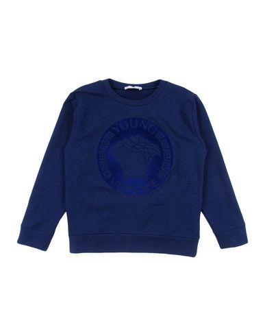 Купить Толстовку от VERSACE YOUNG темно-синего цвета
