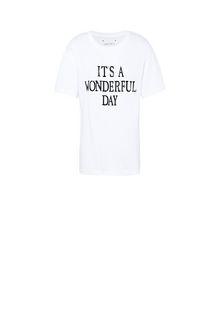 ALBERTA FERRETTI T-shirt printed with It's A Wonderful Day T-shirt Woman e
