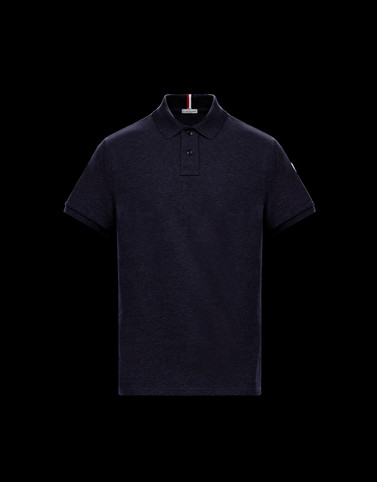 POLO SHIRT Dark blue Category Polo shirts Man