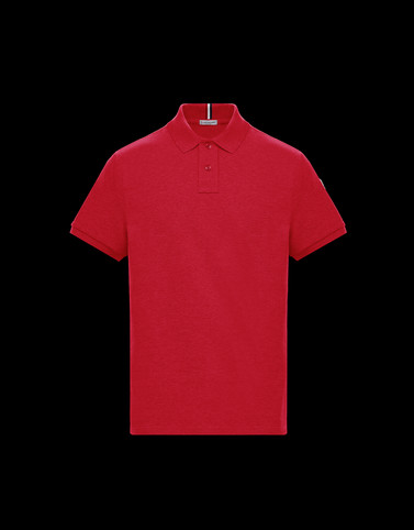 POLO SHIRT Brick red Category Polo shirts Man