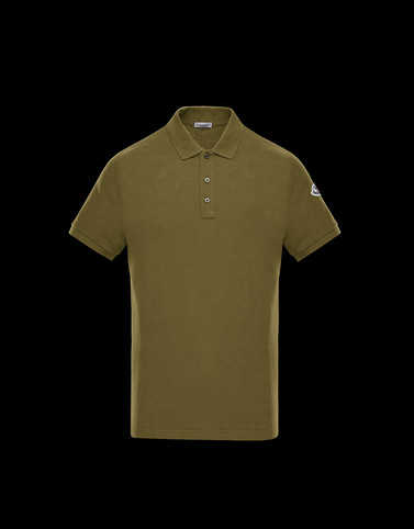 POLO Military green Category Polo shirts Man