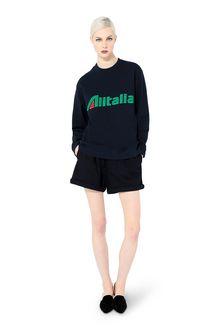 ALBERTA FERRETTI T-shirt Woman T-shirt embroidered with Alitalia logo f