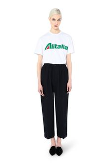 ALBERTA FERRETTI T-shirt Woman T-shirt embroidered with Alitalia logo f