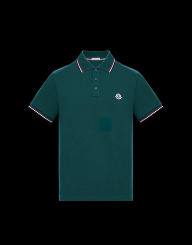 POLO Green Shirts Man