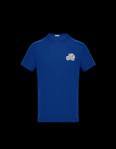 T-SHIRT Bright blue Category T-shirts Man