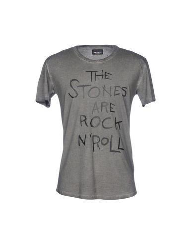 Фото - Женскую футболку ARTISTS свинцово-серого цвета