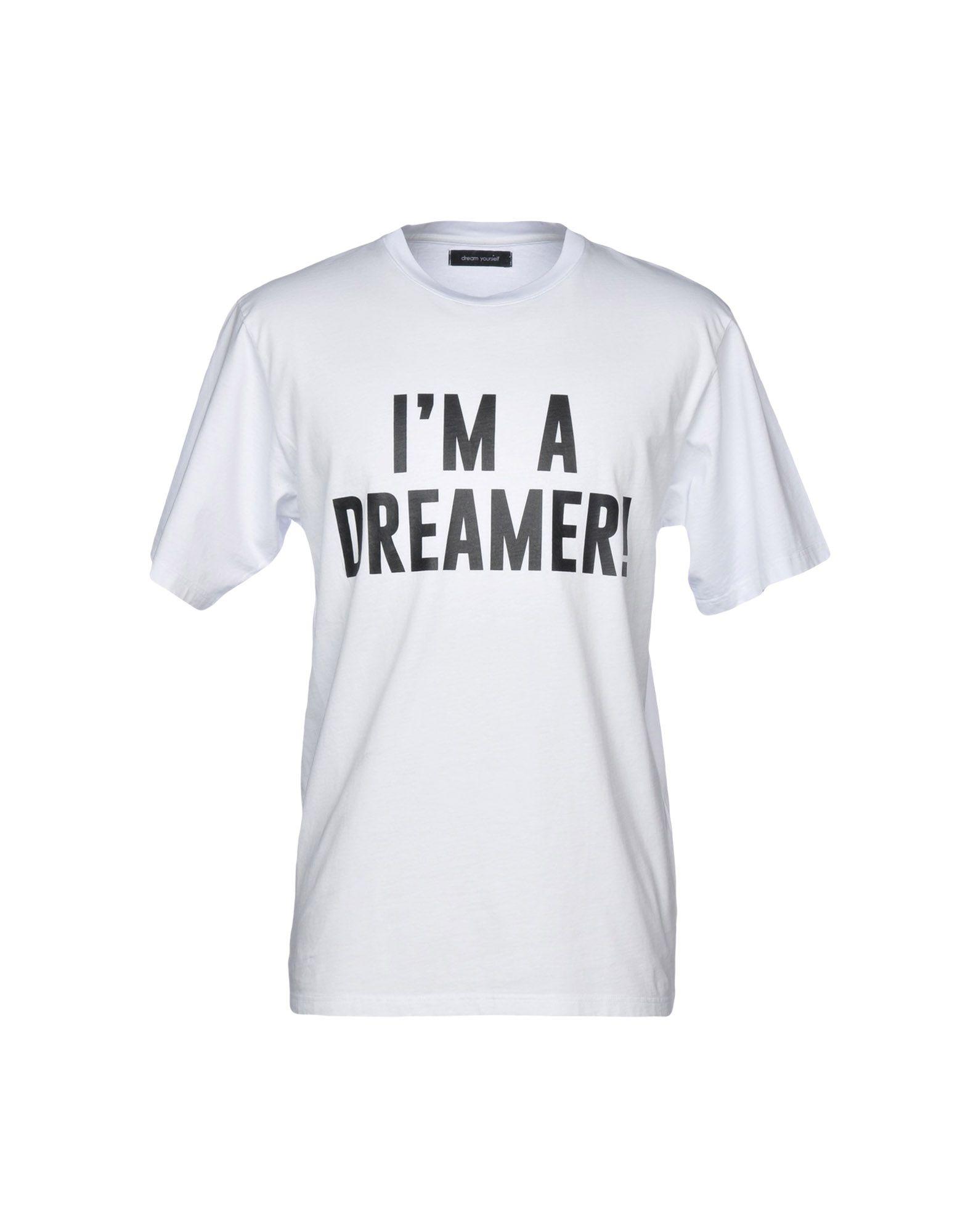 DREAM YOURSELF Футболка футболка wearcraft premium slim fit printio trek yourself before you wreck yourself