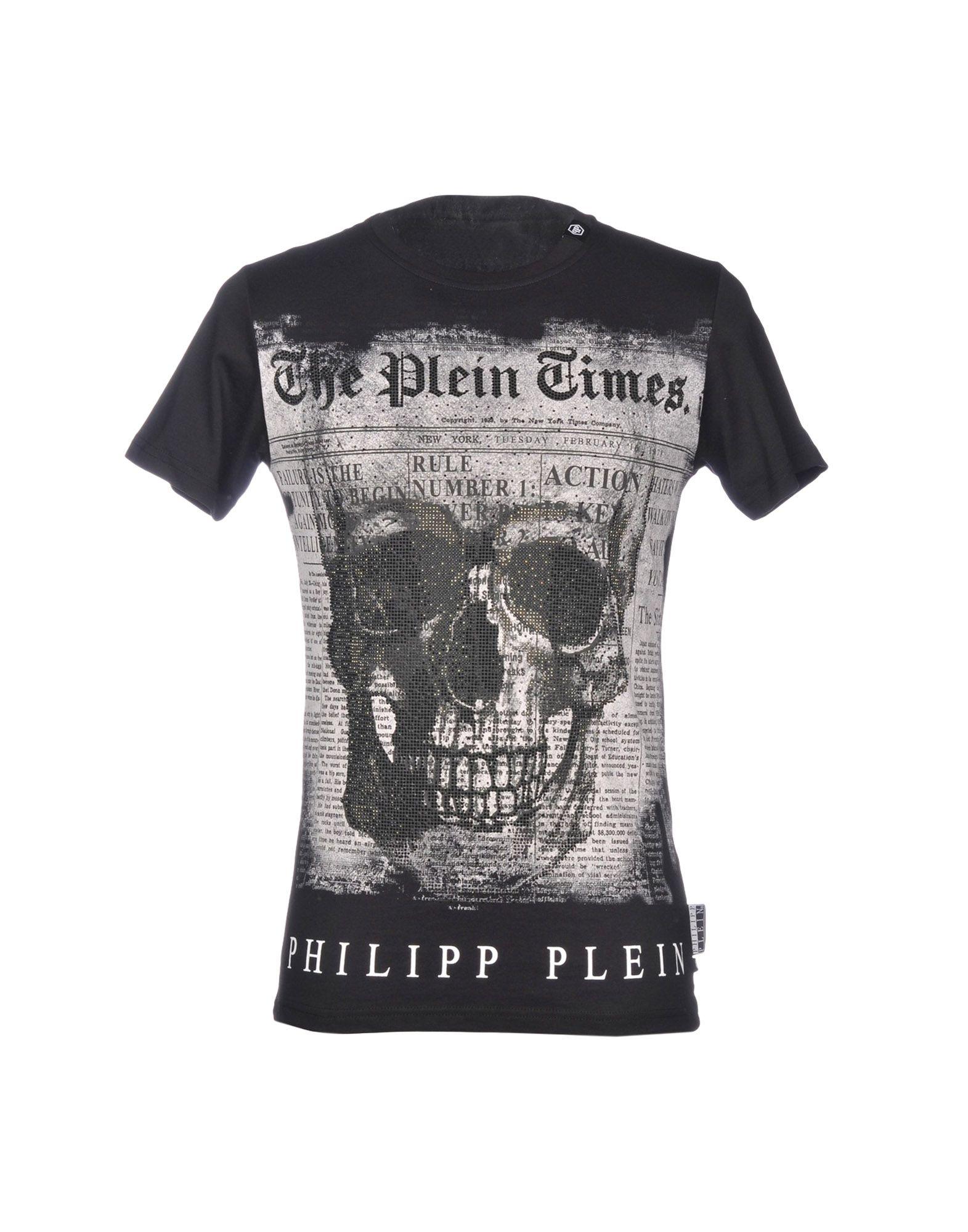 PHILIPP PLEIN Футболка футболка philipp plein с черепом
