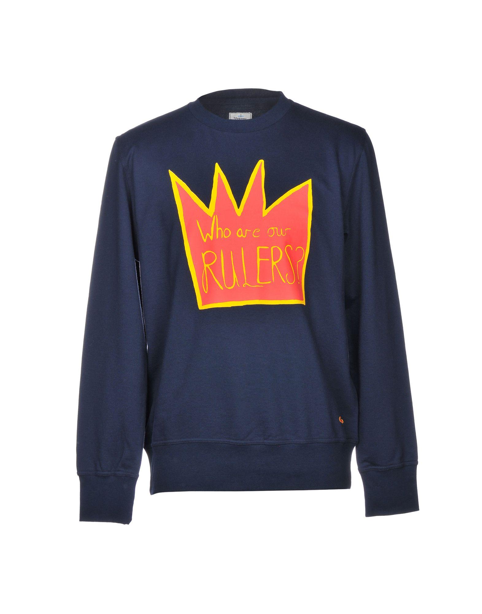 VIVIENNE WESTWOOD MAN Sweatshirt in Dark Blue