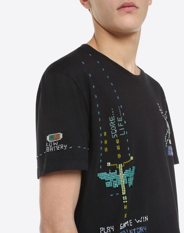 Arcade Videogame embellished T-Shirt