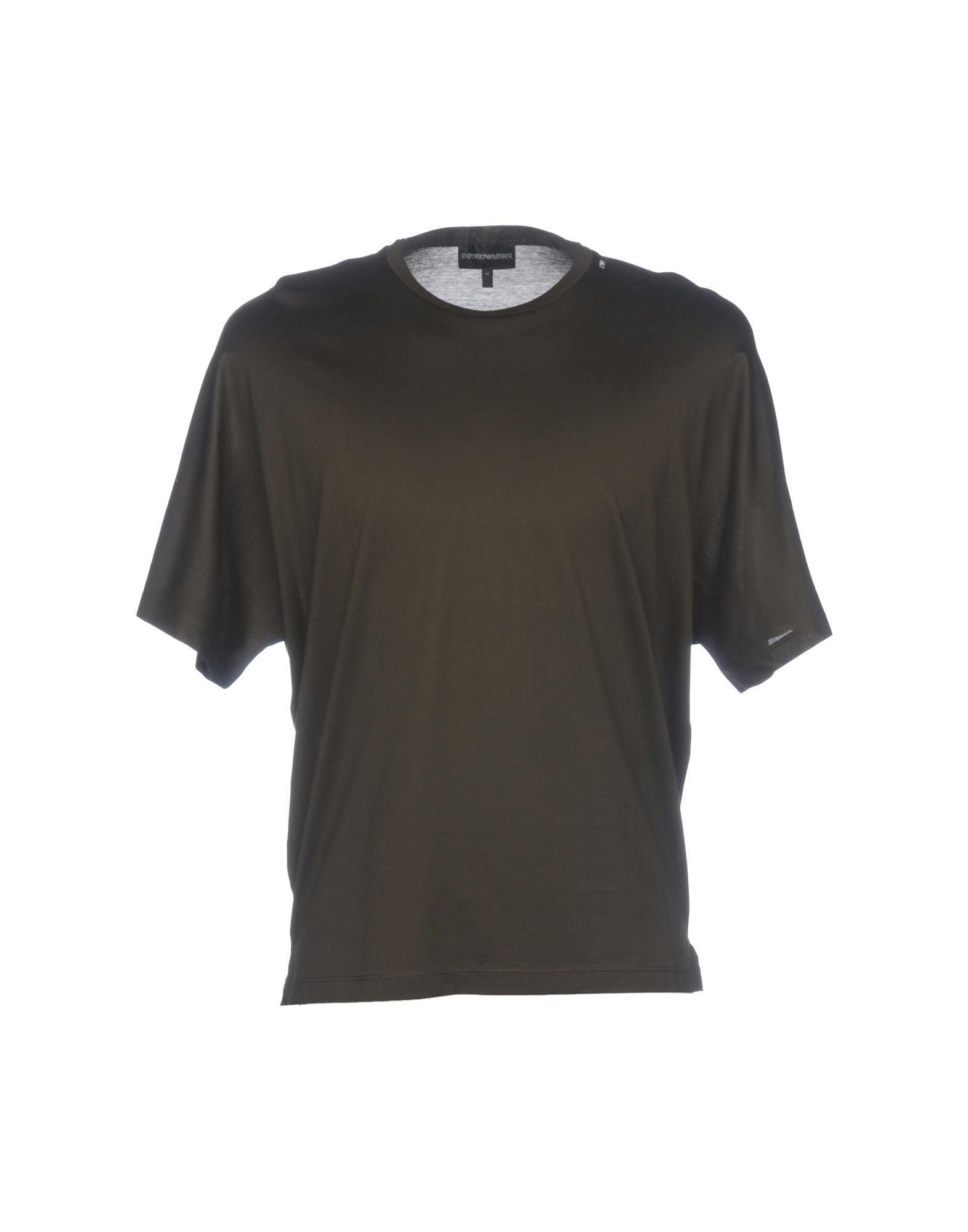 《送料無料》EMPORIO ARMANI メンズ T シャツ ミリタリーグリーン XS コットン 100%
