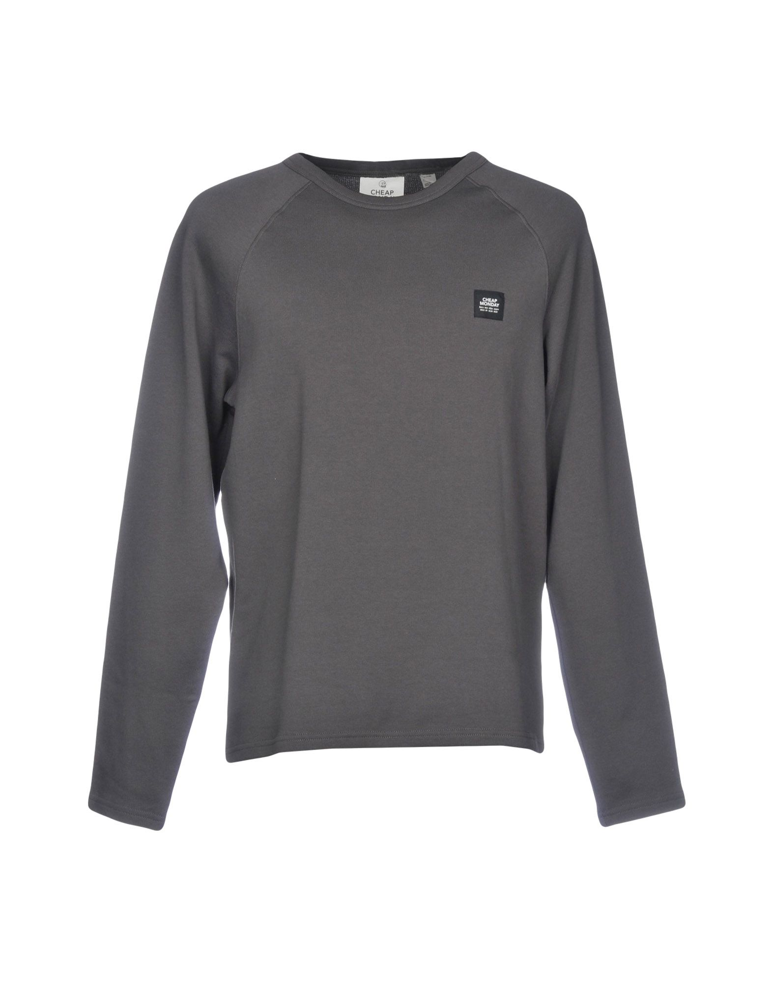 CHEAP MONDAY Sweatshirt in Steel Grey