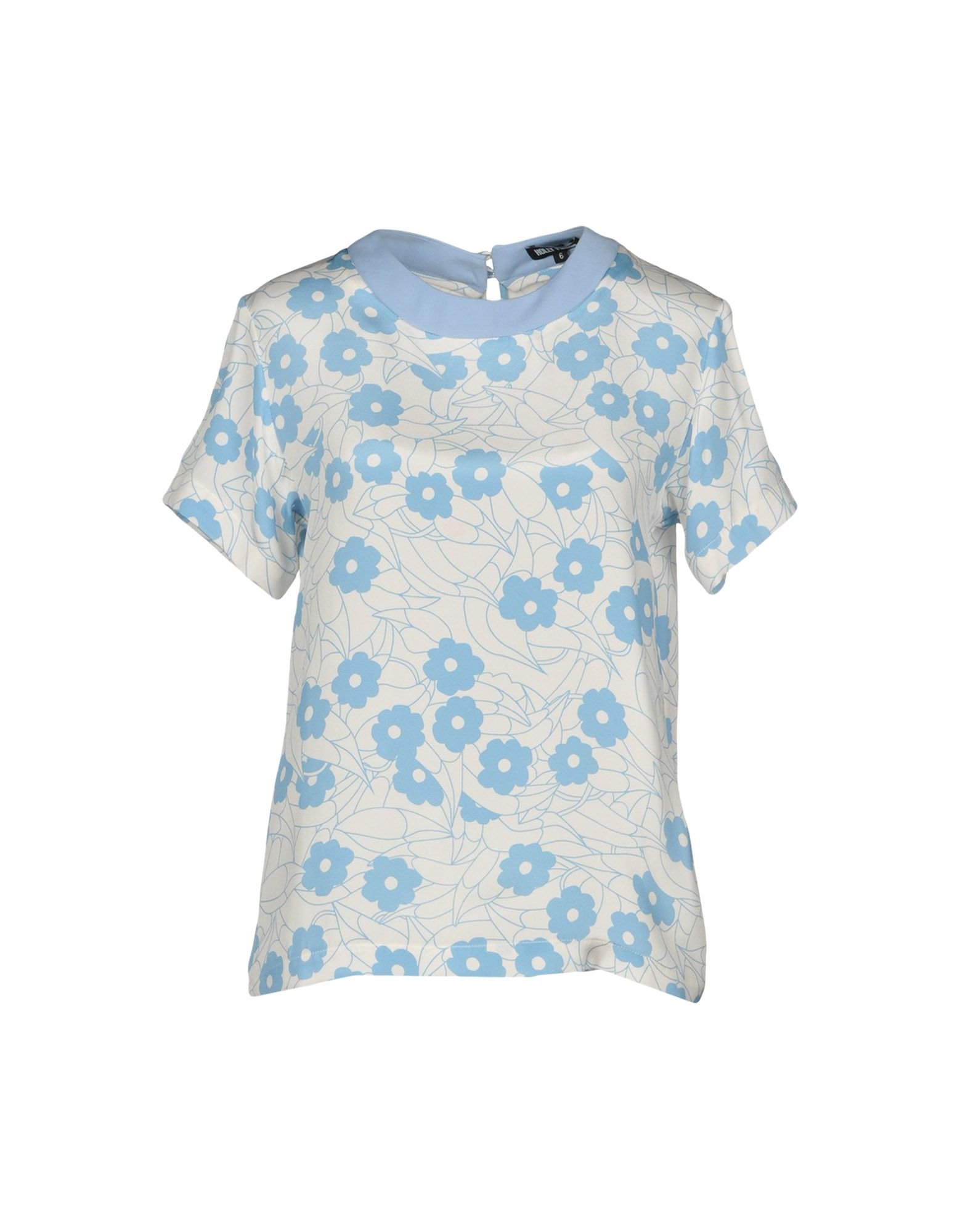 HOLLY FULTON Blouse in Sky Blue