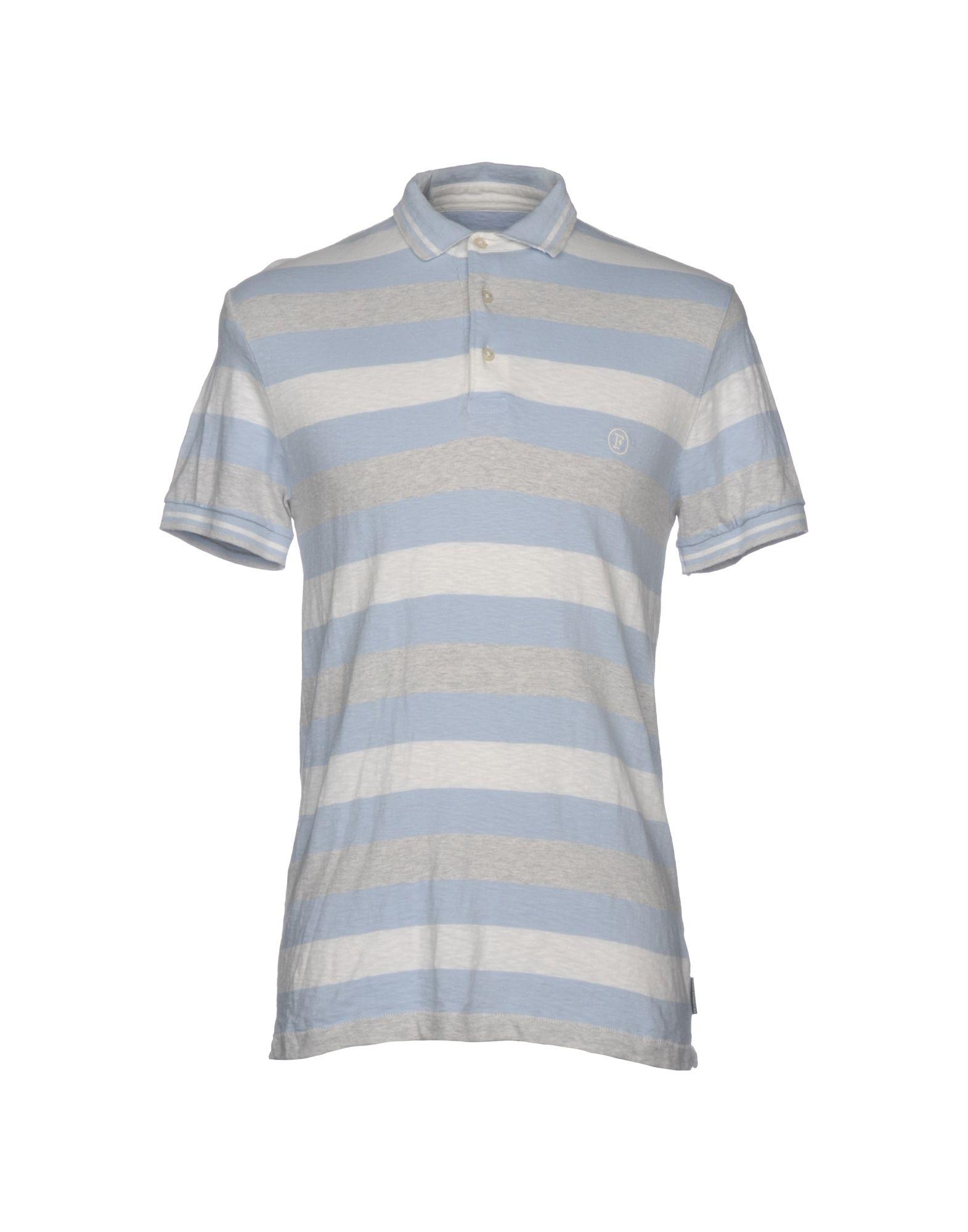 《送料無料》FRENCH CONNECTION メンズ ポロシャツ スカイブルー M コットン 100%