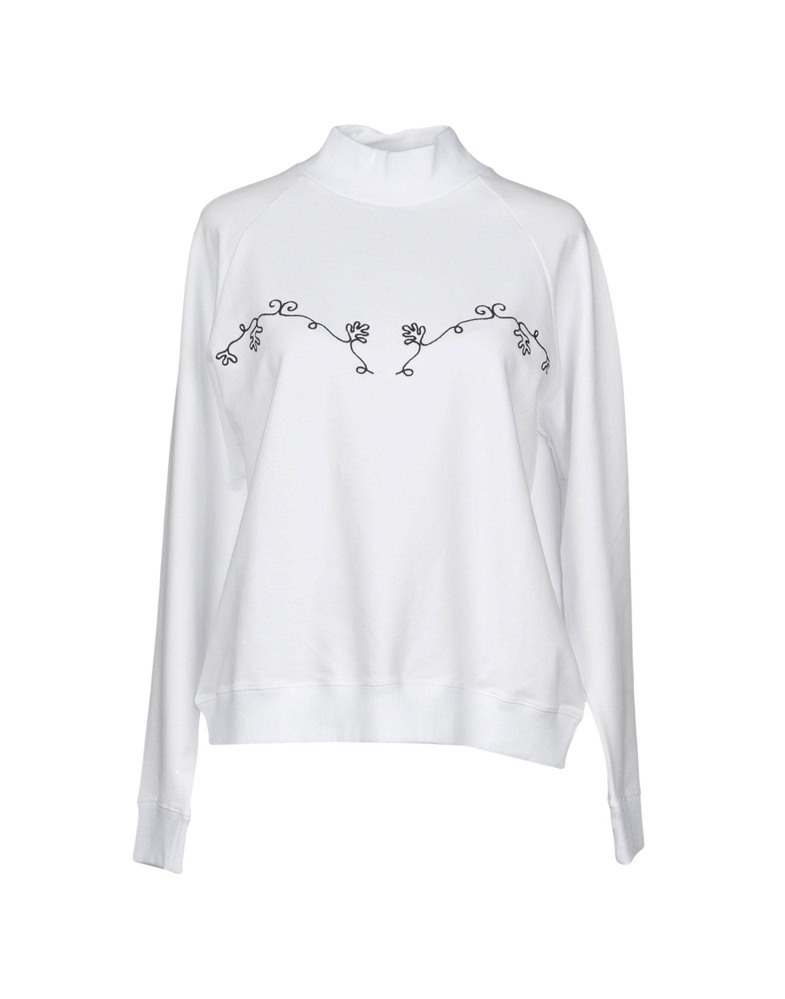 BRUTA Sweatshirt in White