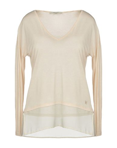Фото - Женскую футболку KORALLINE бежевого цвета