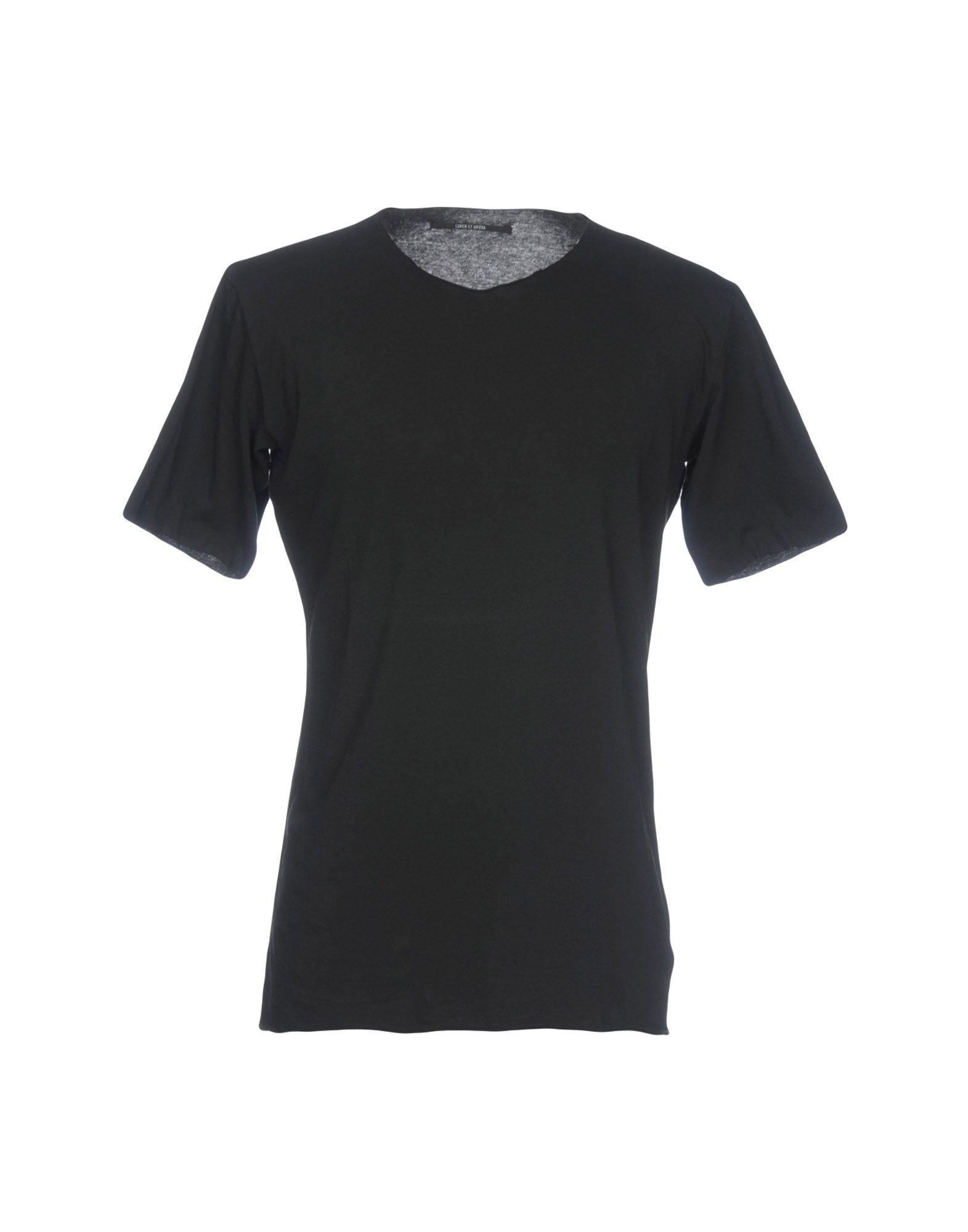 《送料無料》LUMEN ET UMBRA メンズ T シャツ ブラック 48 コットン 100%